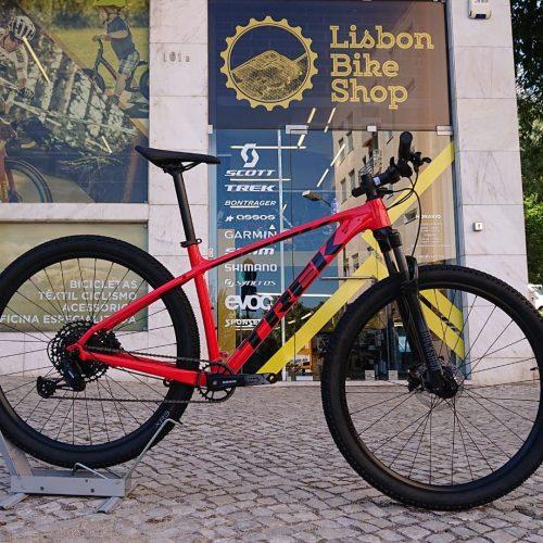 Bicicleta Trek X-Caliber 8 Vermelha