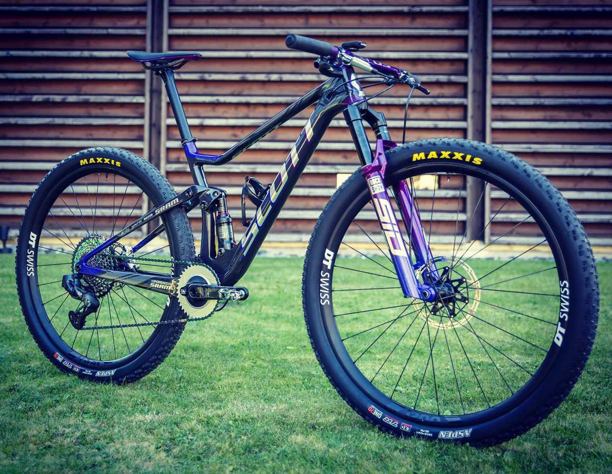 Meribel World Cup XC Pro Bike Checks - Scott 3Rox