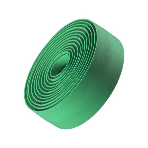 Fita de Guiador de Cortiça com Gel Duplo Bontrager Verde