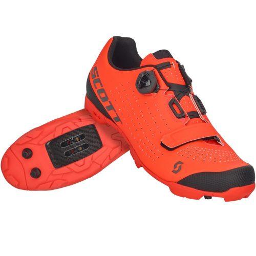 Sapatos de BTT SCOTT Vertec Laranja Neon