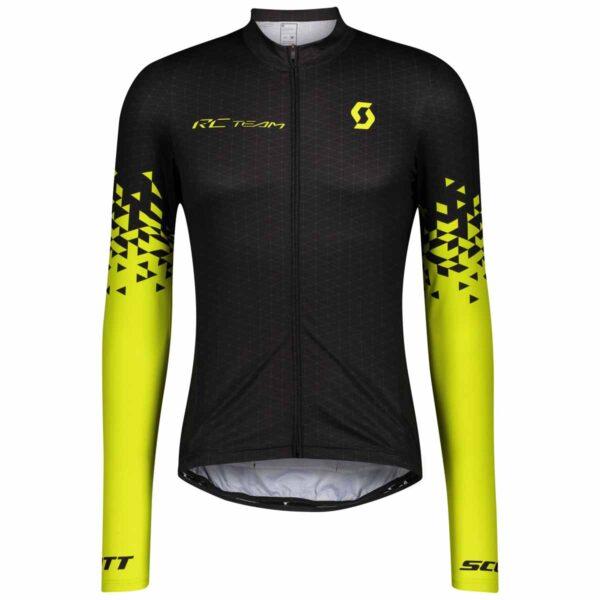 Jersey Scott RC TEAM 10 LS Black Yellow