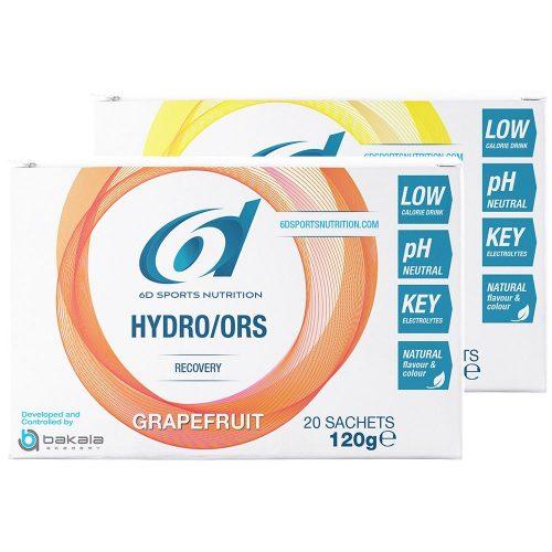 Saquetas 6D Sports Drinks 20 X Hydro ORS