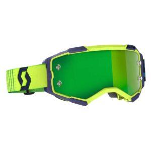 Goggles Scott Fury Blue Yellow
