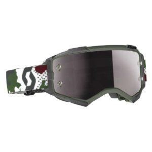 Goggles Scott Fury Dark Green White