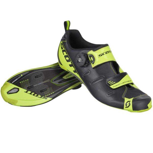 Sapatos de Estrada Scott Tri Carbon