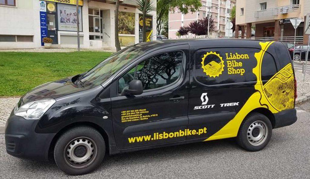 Serviço de recolha e entrega de Bicicletas LBKS