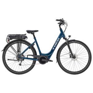 Bicicleta Trek Verve+ 1 Lowstep Dark Aquatic