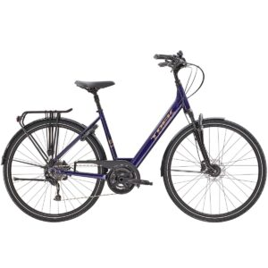 Bicicleta Trek Verve 3 Equipped Lowstep Purple Abyss
