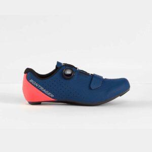 Sapato de estrada Bontrager Circuit Radioactive Coral