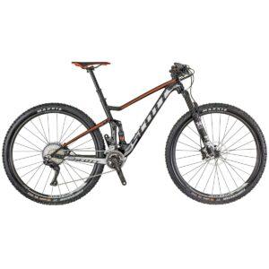 Bicicleta SCOTT Spark 930 Preta Vermelha
