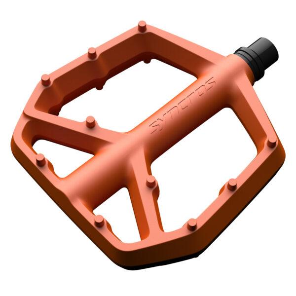 Pedais de Plataforma Syncros Squamish III fire orange