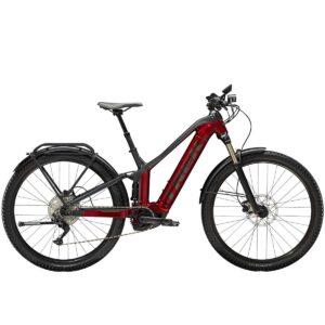 Bicicleta Trek Powerfly FS 4 Equipped Crimson