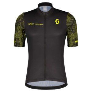 Jersey Scott RC TEAM 10 Black Sulphur Yellow